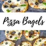 keto pizza bagels