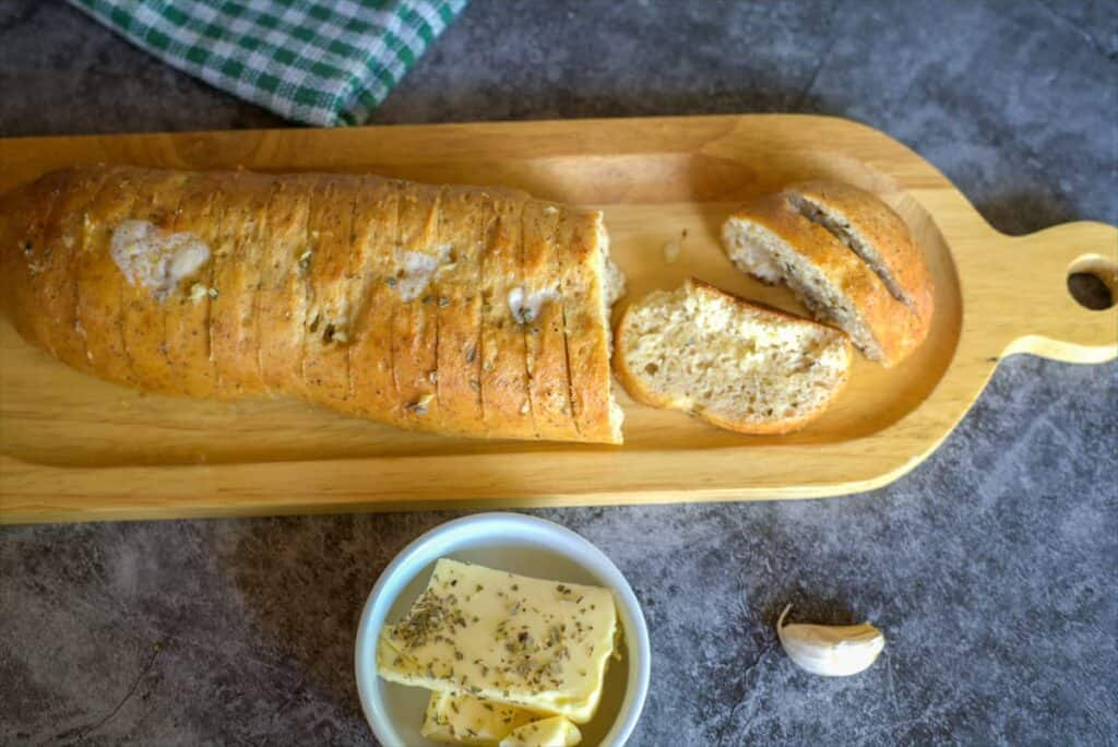 low carb garlic bread