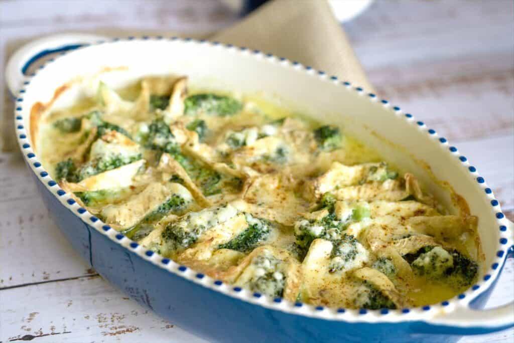 broccoli cheesy brie bake