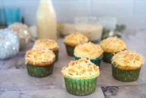 coquito cupcakes