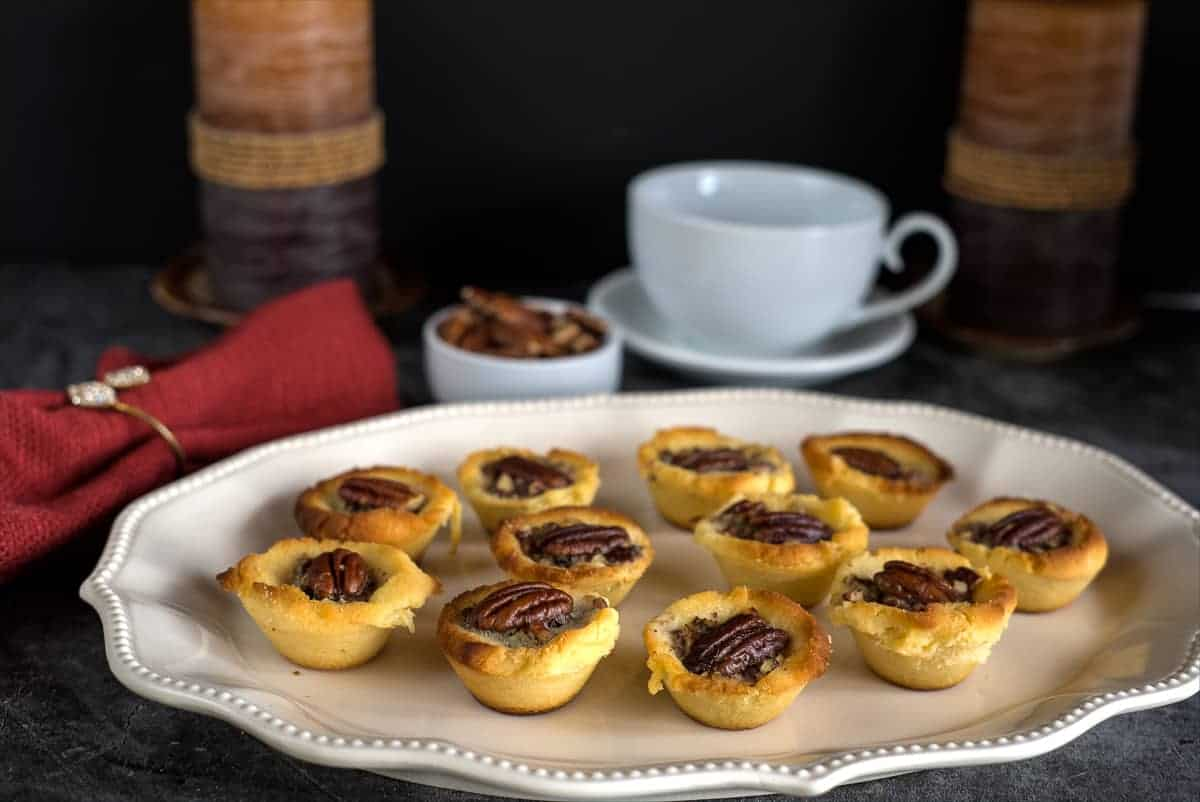 pecan pie mini tarts