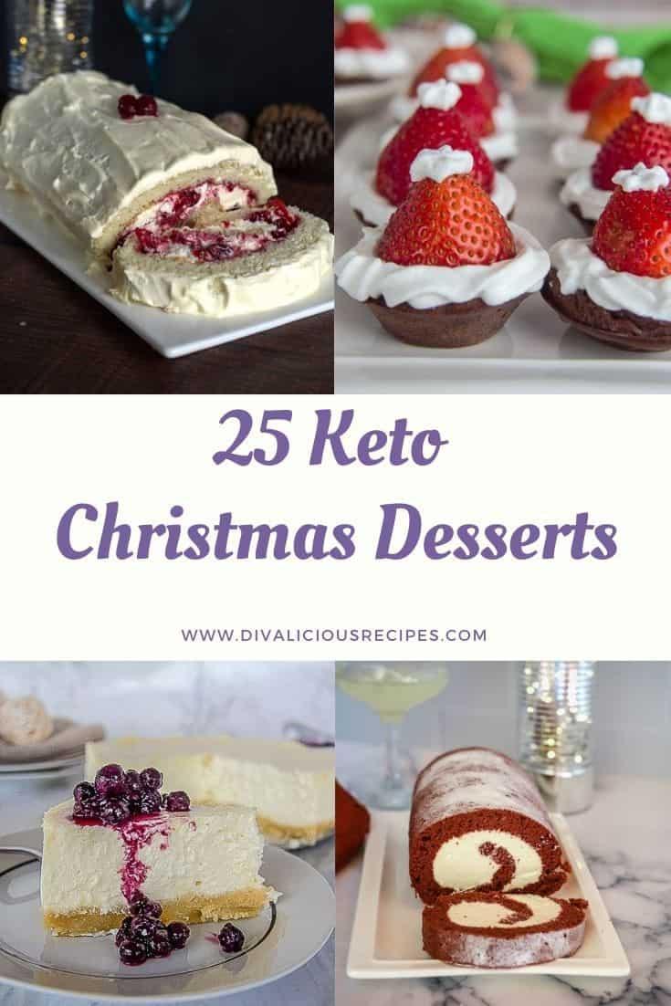 25 keto christmas desserts