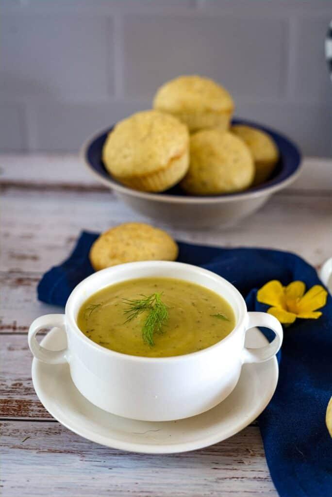 fennel zucchini soup