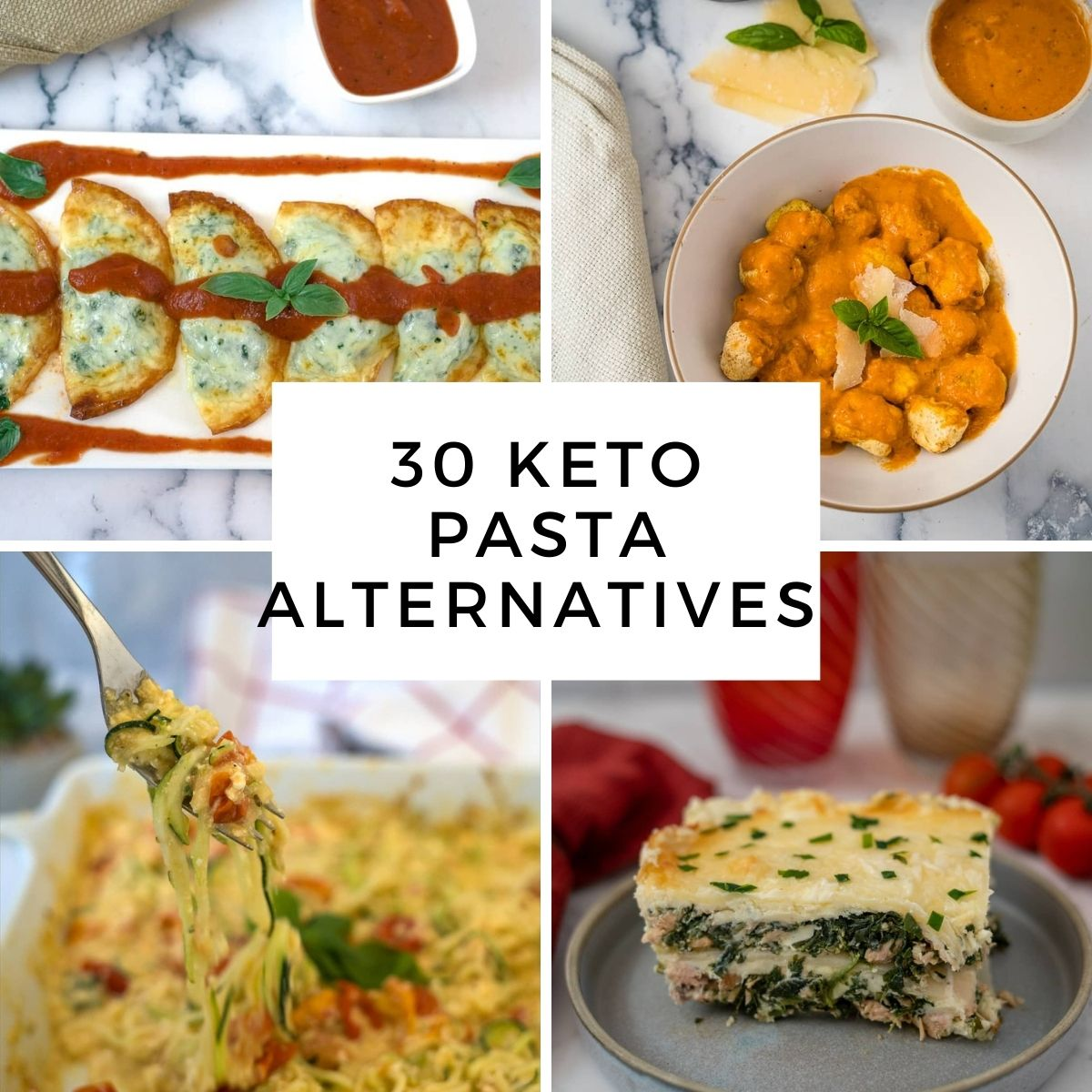 25 low carb past replacements