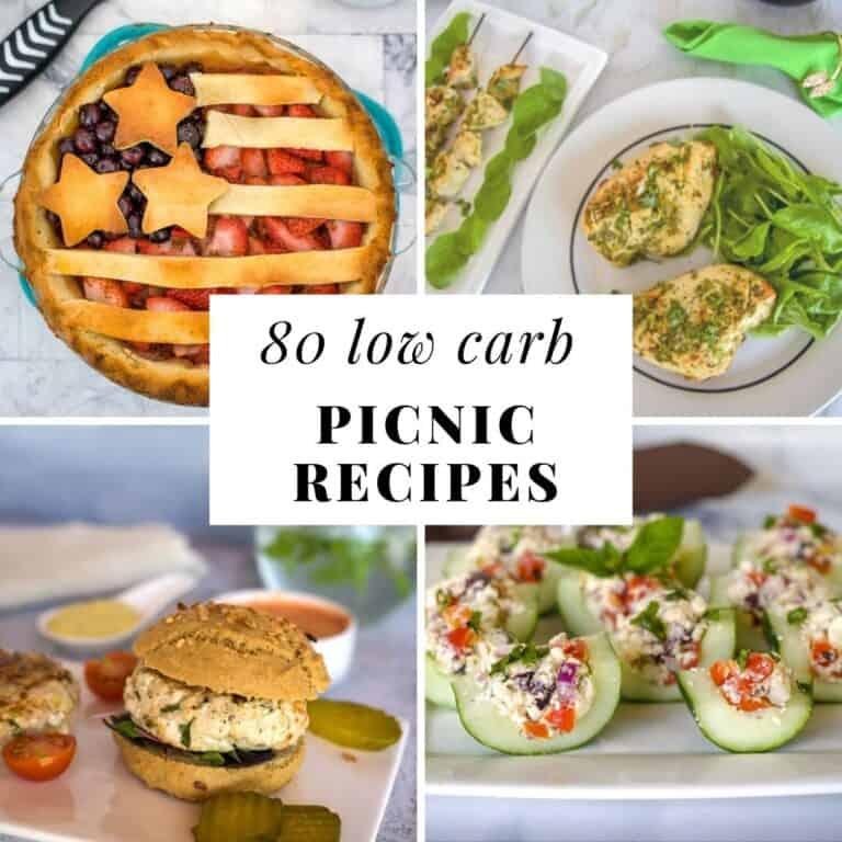 80 low carb picnic recipes