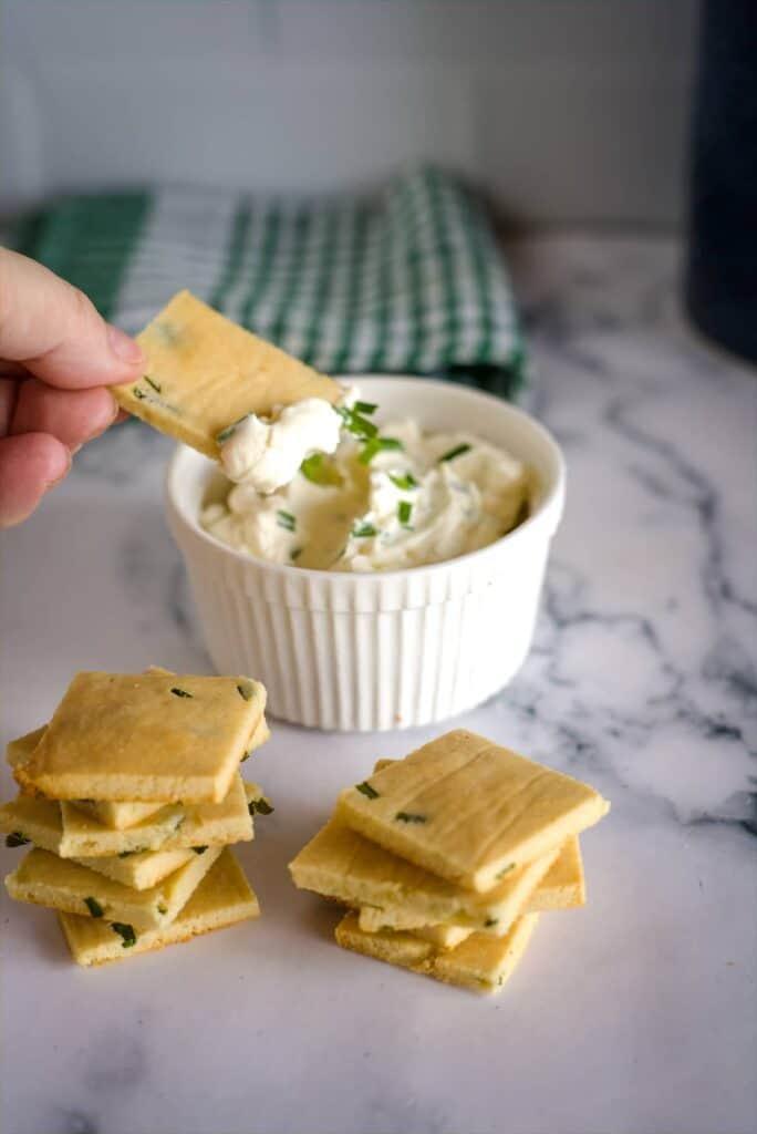 sour cream chive dip