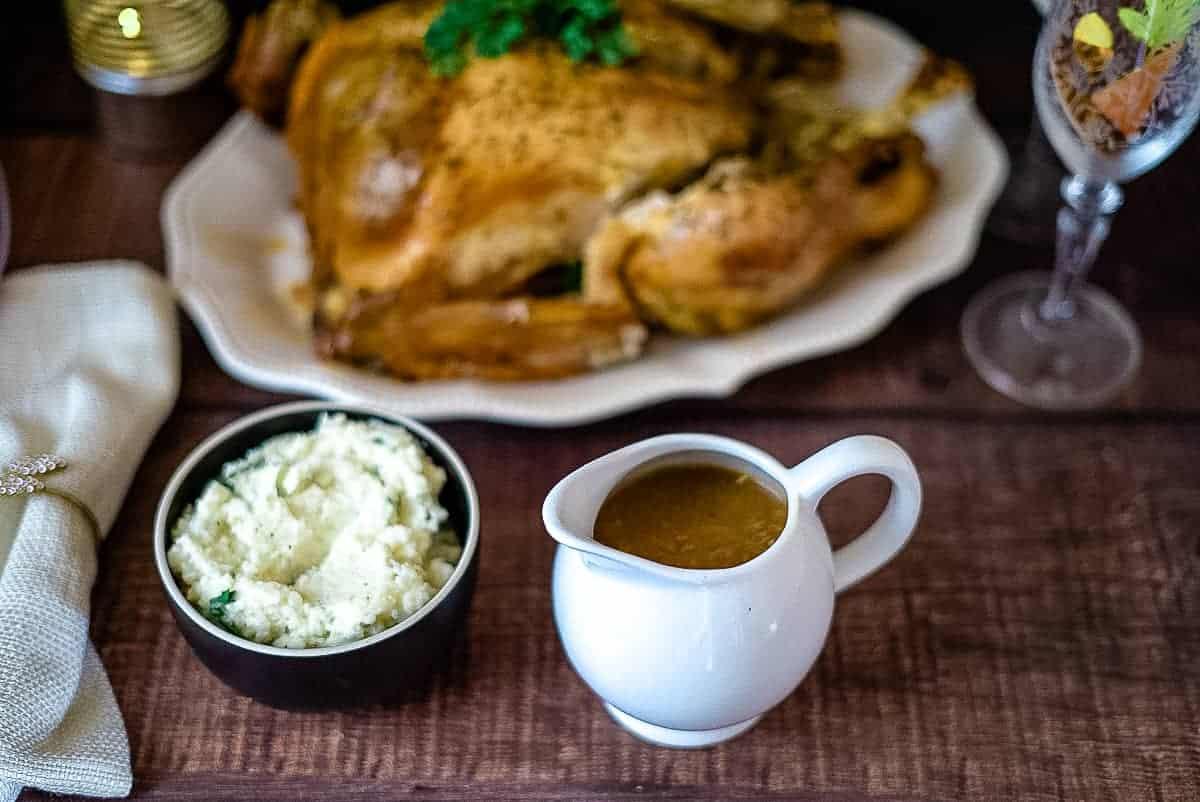 keto turkey gravy